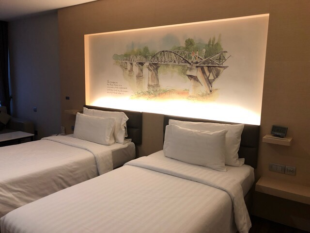 Paringa Hotel room
