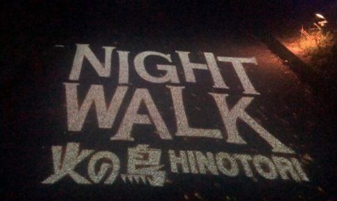 NIGHT WALK ニジゲンノモリ