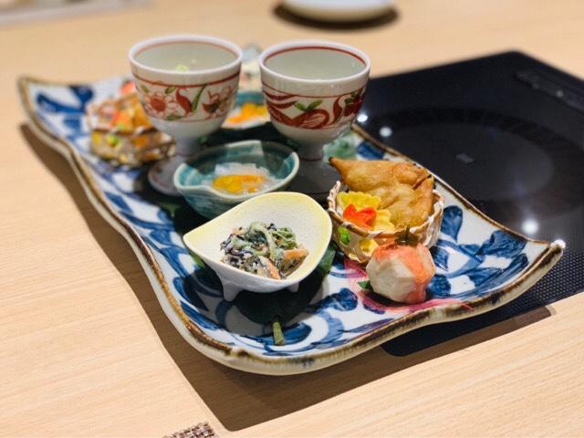 i+Land nagasaki 夕食