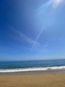 グランアイガ横の海