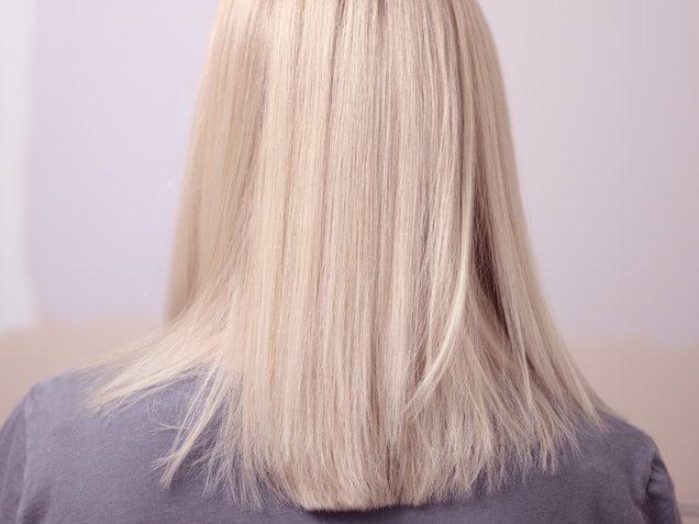 髪のブリーチ